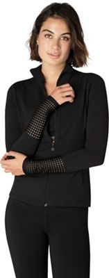 Beyond Yoga Women's Mock Neck Mesh Jacket