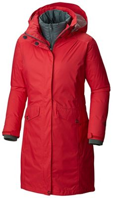Columbia Women's EvaPouration Trench Interchange Jacket