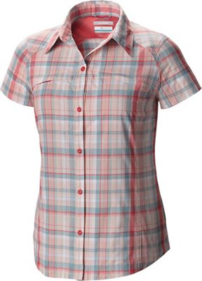 Columbia Women's Silver Ridge Multi Plaid SS Shirt
