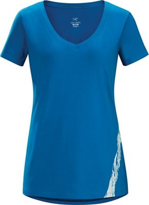 Arcteryx Women's Regenerate SS V-Neck Top