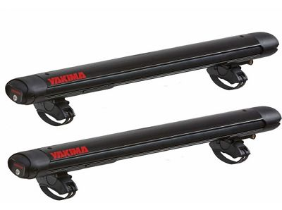 Yakima FatCat 6+ Ski and Snowboard Mounts with SKS Locks - Black