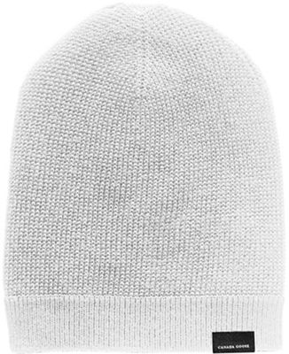 Canada Goose Men's Waffle Slouchy Beanie