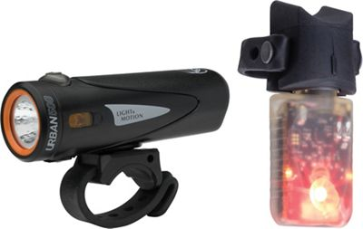 Light and Motion Urban 500 and Vibe Lights