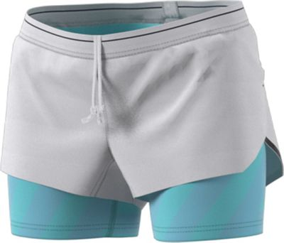 Adidas Women's Agravic 2IN1 Parley 3 Inch Short