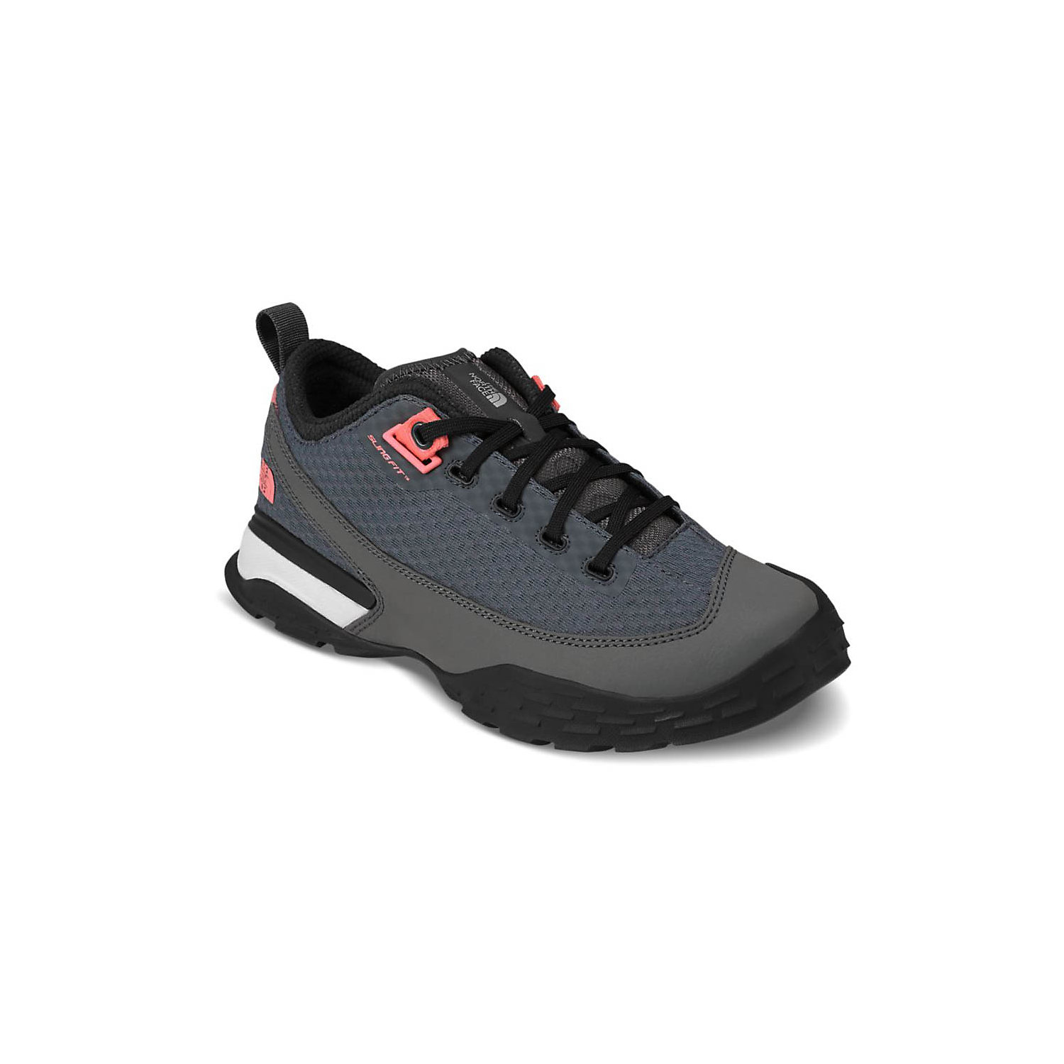 6b14730ca37d The North Face Women s One Trail Shoe. Double tap to zoom. Turbulence Grey    Desert Flower Orange
