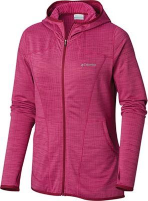 Columbia Women's Feather Brush Full Zip Fleece Hoodie