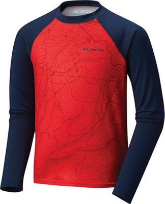 Columbia Youth Mini Breaker LS Sunguard Top