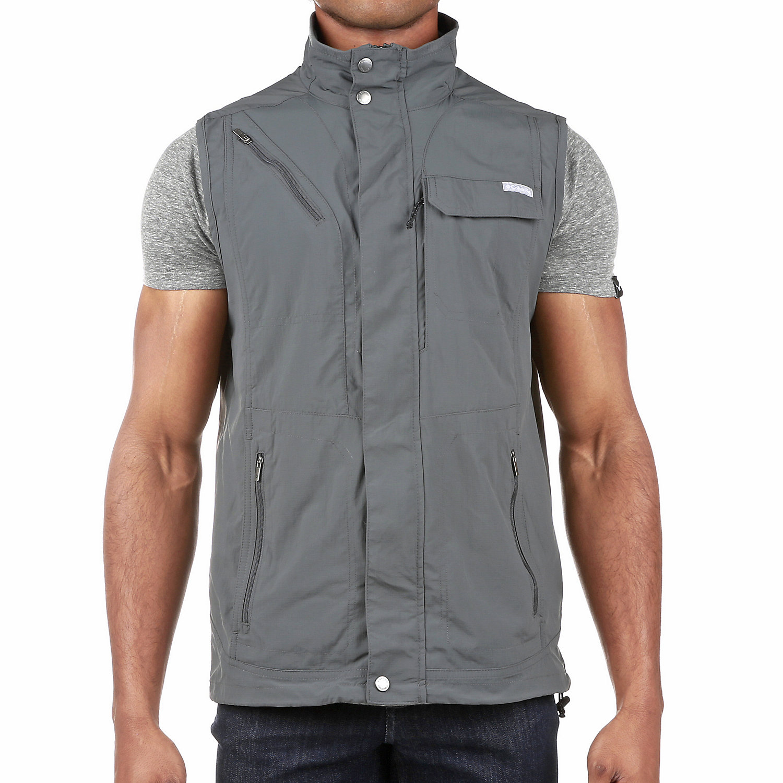 Columbia Sportswear Mens Silver Ridge Vest