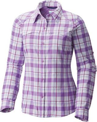 Columbia Women's Silver Ridge Plaid LS Shirt