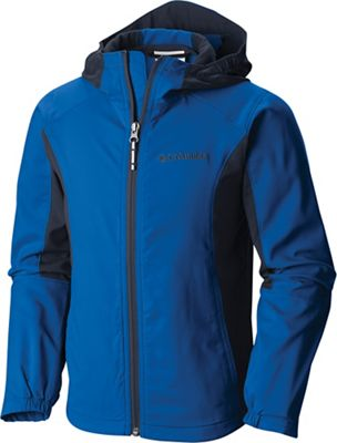 Columbia Youth Boys' Splashflash II Hooded Softshell Jacket