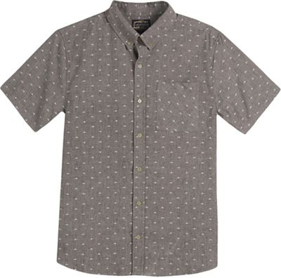 United By Blue Men's Mountain Print Button Down Shirt