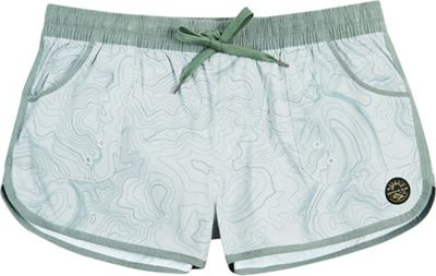 United By Blue Women's Topography Boardshort