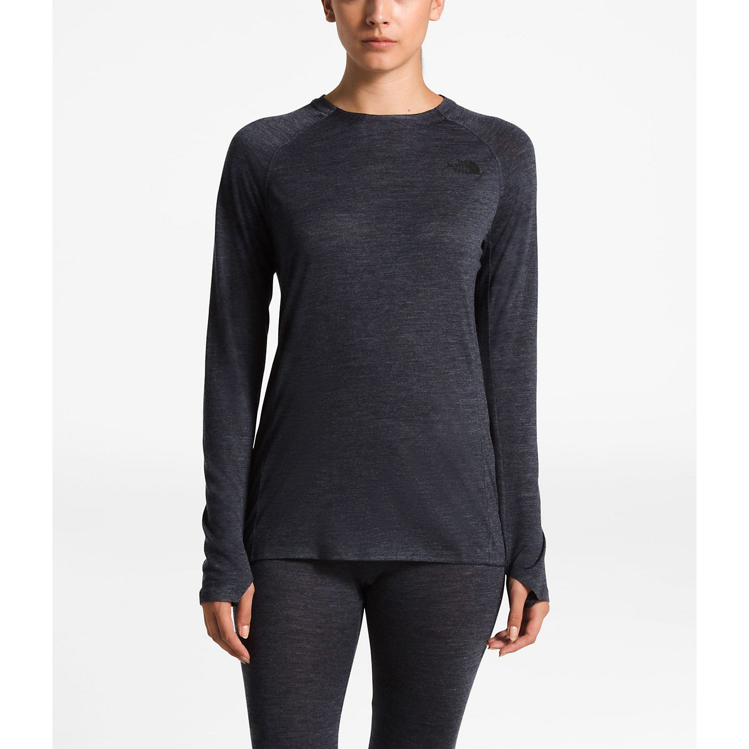 c943e8783 The North Face Women's Wool HGR Baselayer L/S Crew Neck Top