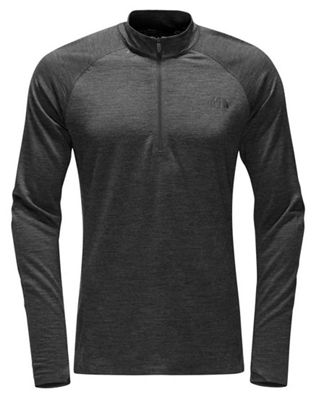 The North Face Men's Wool HGR Baselayer L/S Zip Neck Top