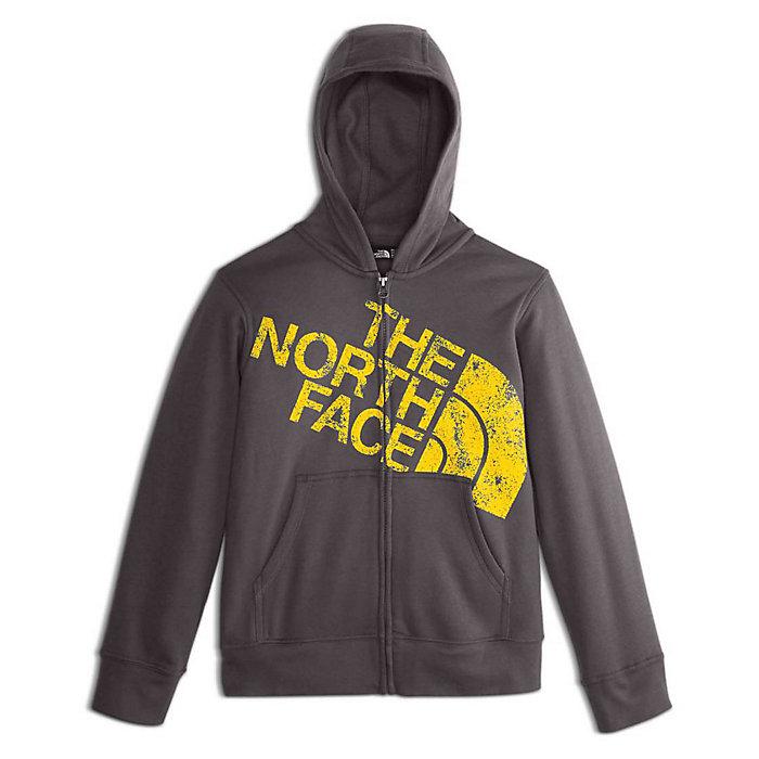 b74fdb365 The North Face Boys' Logowear Full Zip Hoodie - Moosejaw