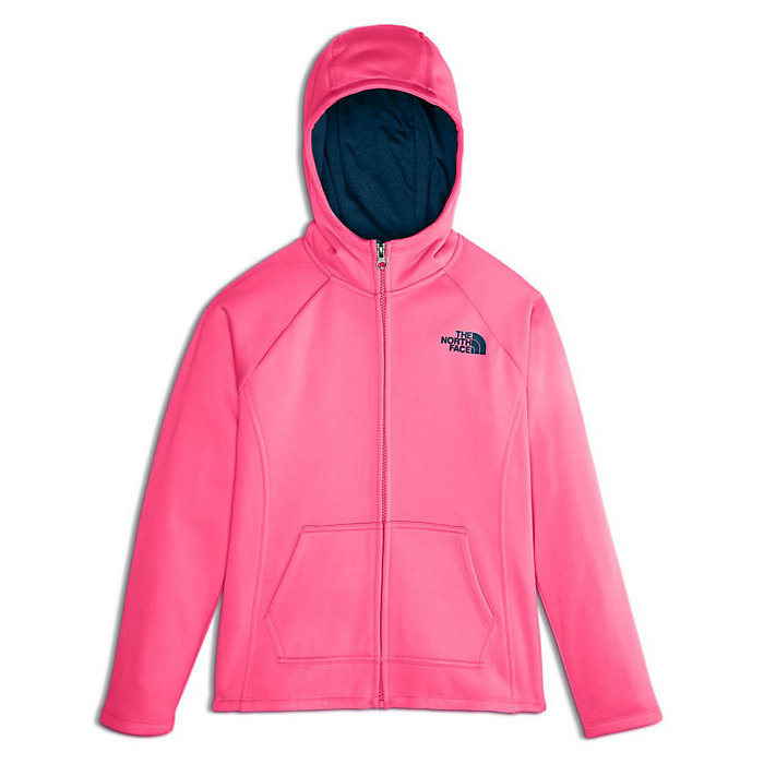 31f3b7c23 The North Face Girls  Surgent 2.0 Full Zip Hoodie - Moosejaw