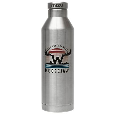Moosejaw Mizu Invisible Touch 26 oz. Insulated Stainless Steel Bottle