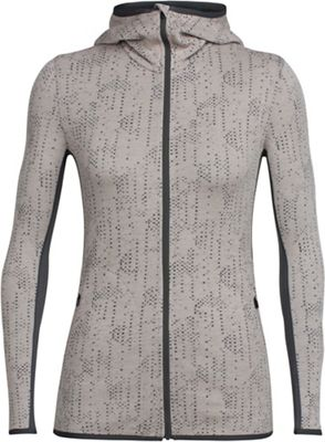 Icebreaker Women's Away Showers LS Zip Hooded