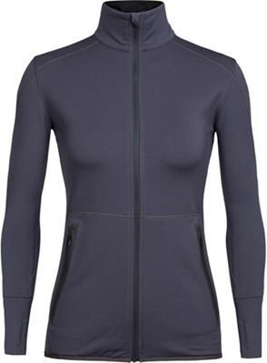 Icebreaker Women's Comet LS Zip Top