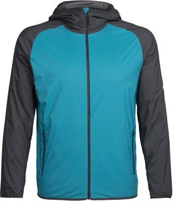 Icebreaker Men's Coriolis Hooded Windbreaker Jacket