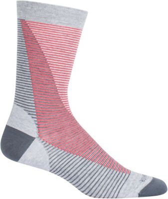 Icebreaker Lifestyle Fine Gauge Ultra Light Leaning Ladders Crew Sock