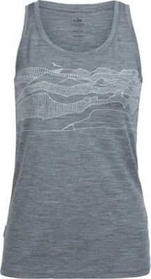 Icebreaker Women's Tech Lite Hawkland Tank Top