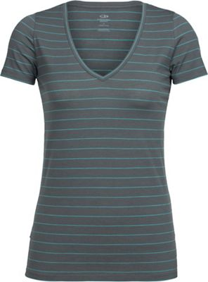 Icebreaker Women's Tech Lite V Neck SS Top