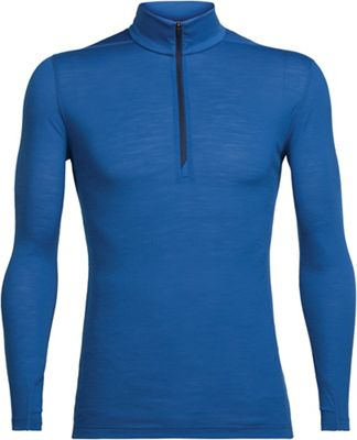 Icebreaker Men's Zeal LS Half Zip Top
