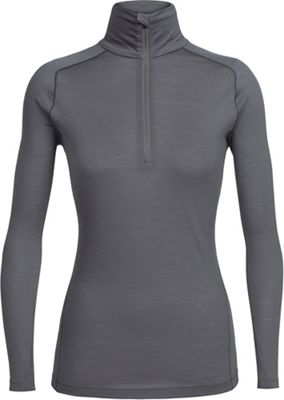 Icebreaker Women's Zeal LS Half Zip Top
