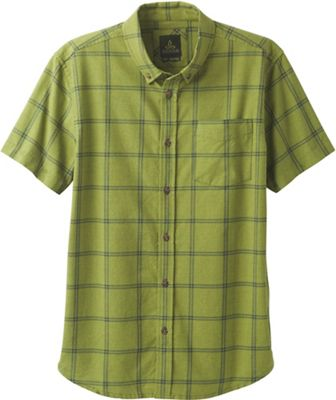 Prana Men's Broderick Window Pane SS Shirt
