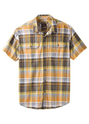 Prana Men's Cayman Plaid SS Shirt