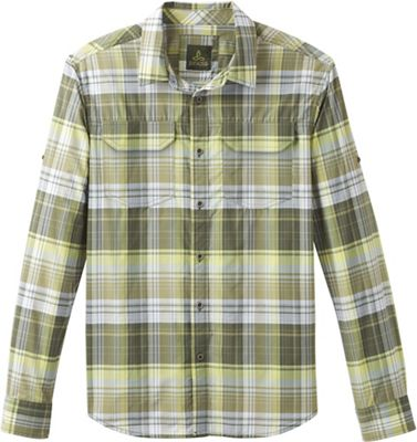 Prana Men's Citadel Plaid LS Shirt