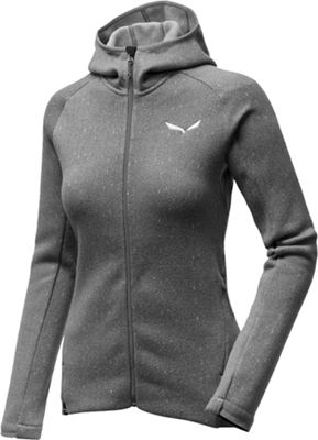 Salewa Women's Puez Herringbone PL Full Zip Top