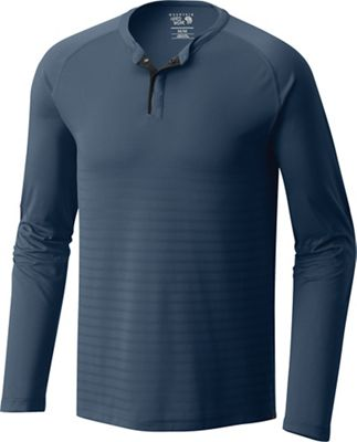 Mountain Hardwear Men's MHW VNT Long Sleeve Henley