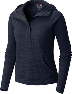 Mountain Hardwear Women's Breeze VNT Long Sleeve Hoodie