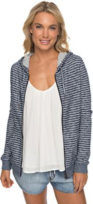 Roxy Women's Trippin Stripe Zip Up Hoody