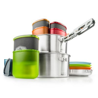 GSI Outdoors Glacier Stainless Camper Cookset