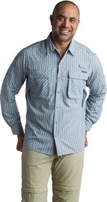 ExOfficio Men's Air Strip Check Plaid LS Shirt