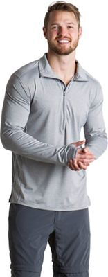 ExOfficio Men's BugsAway Sol Cool Zip Neck LS Top