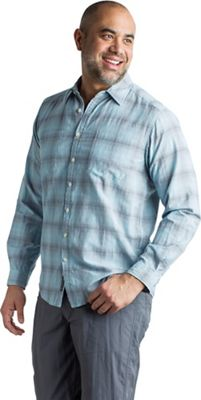 ExOfficio Men's BugsAway Poros Plaid LS Shirt