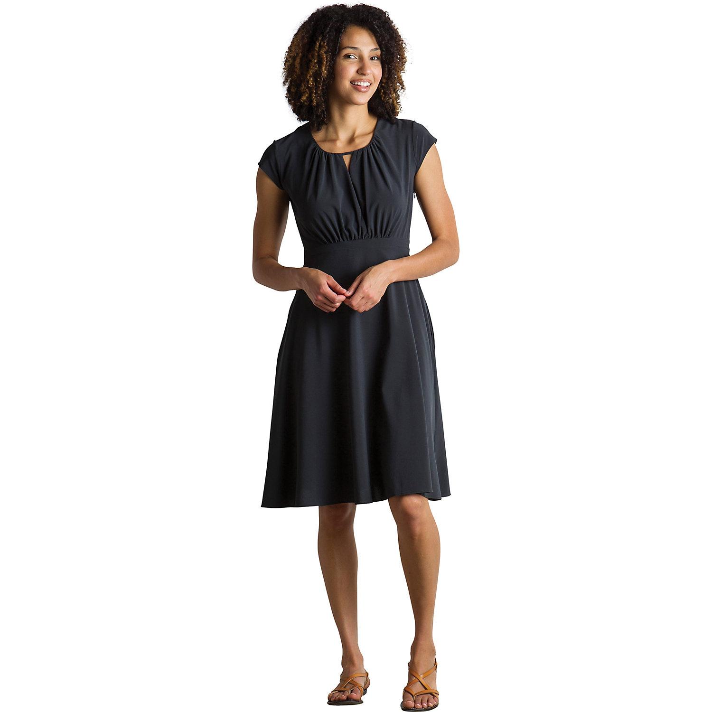 ExOfficio Womens Kizmet Cross-Front Short-Sleeve Dress