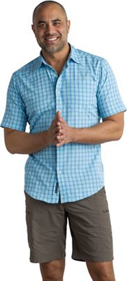 ExOfficio Men's Salida Check SS Shirt