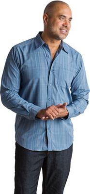 ExOfficio Men's Salida Ombre Plaid LS Shirt