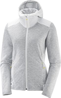 Salomon Women's Elevate Full Zip Midlayer Hoodie