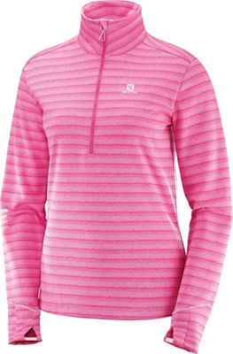 Salomon Women's Lightning Half Zip Midlayer Top