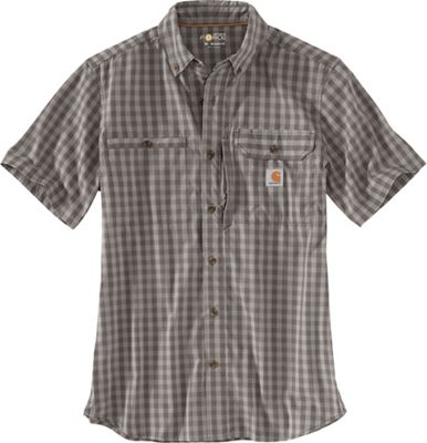 Carhartt Men's Force Ridgefield Plaid SS Shirt