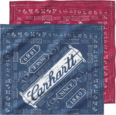 Carhartt Men's Work Bandana 2 Pack