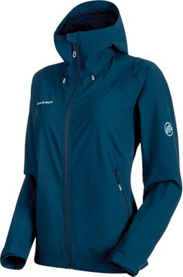Mammut Women's Runbold Trail SO Hooded Jacket