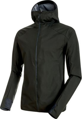 Mammut Men's Ultimate V Light SO Hooded Jacket