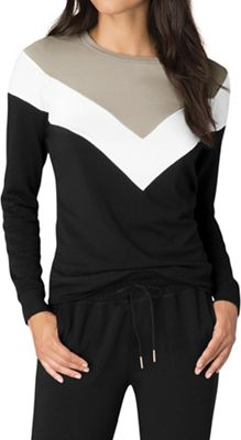 Beyond Yoga Women's Living Easy Chevron Sweatshirt